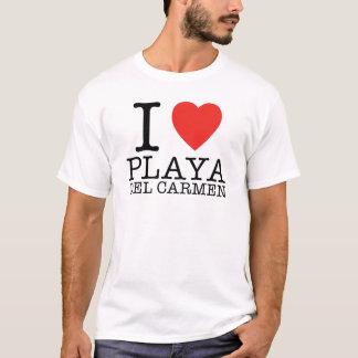 I love Playa del Carmen T-Shirt