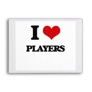I Love Players Envelope