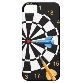 I Love Playing Dart iPhone 5 Case