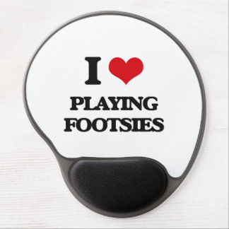 I Love Playing Footsies Gel Mouse Pad