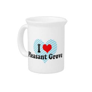 I Love Pleasant Grove, United States Pitcher