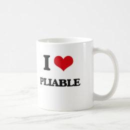 I Love Pliable Coffee Mug