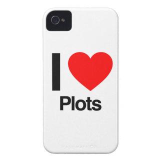 i love plots iPhone 4 Case-Mate cases