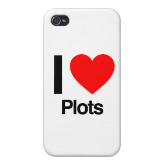 i love plots covers for iPhone 4