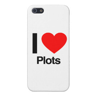 i love plots covers for iPhone 5