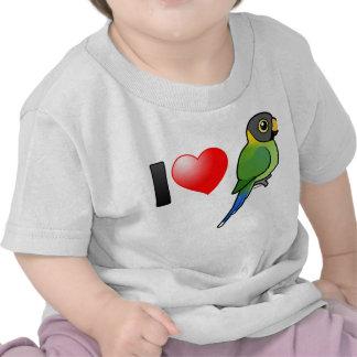 I Love Plum-headed Parakeets (female) Tshirt