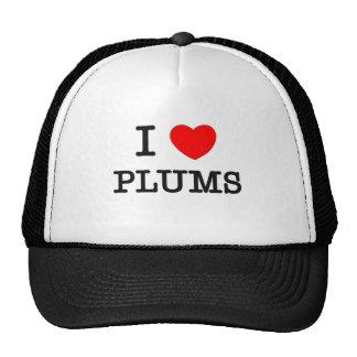 I Love Plums Trucker Hat