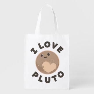 I Love Pluto Market Tote