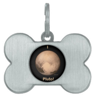 I love Pluto! Pet Name Tag