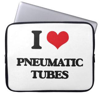 I Love Pneumatic Tubes Laptop Computer Sleeves