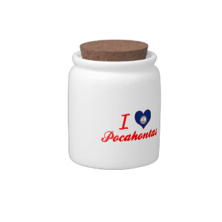 I Love Pocahontas, Virginia Candy Dishes