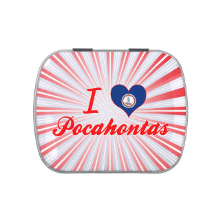 I Love Pocahontas, Virginia Candy Tins