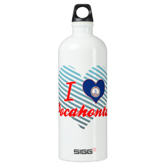 I Love Pocahontas, Virginia SIGG Traveler 1.0L Water Bottle