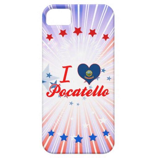 I Love Pocatello, Idaho iPhone 5/5S Covers