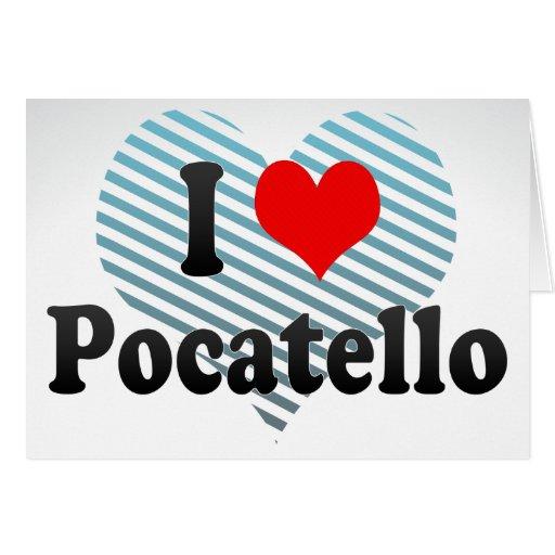 I Love Pocatello, United States Cards