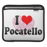 I Love Pocatello, United States iPad Sleeve