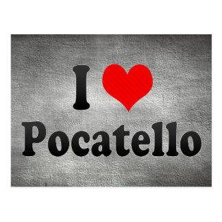 I Love Pocatello, United States Postcard