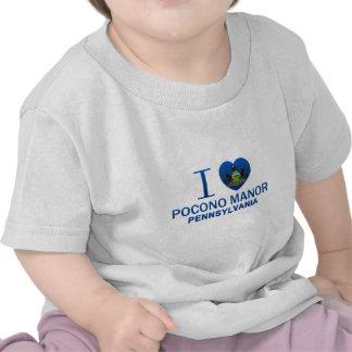 I Love Pocono Manor, PA T-shirts