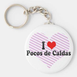 I Love Pocos de Caldas, Brazil Key Chains