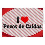 I Love Pocos de Caldas, el Brasil Tarjetón