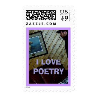 I LOVE POETRY STAMPS