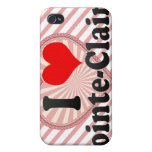 I Love Pointe-Claire, Canada iPhone 4/4S Cases