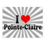 I Love Pointe-Claire, Canada Postcard