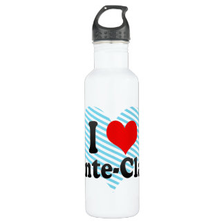 I Love Pointe-Claire, Canada Water Bottle