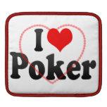 I love Poker iPad Sleeves
