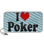 I love Poker Portable Speakers