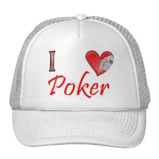 I love Poker Trucker Hat