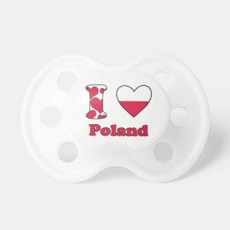 I love Poland Pacifier