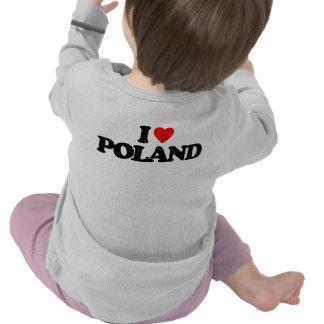 I LOVE POLAND TEE SHIRT
