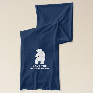 I Love Polar Bears - Save the Polar Bear Scarf