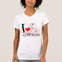 I Love Polar Bears T-shirts