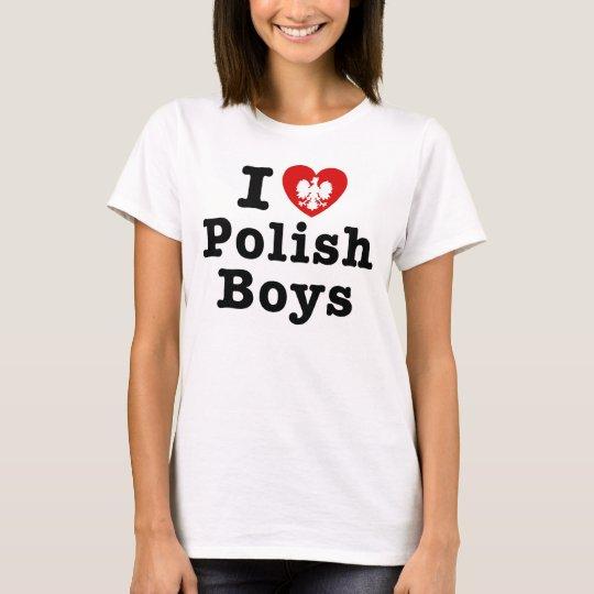 I love polish boys T-Shirt