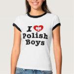 I Love Polish Boys Tshirt