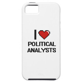 I love Political Analysts iPhone 5 Cover