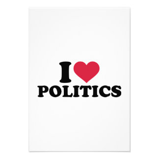 I love Politics Announcement