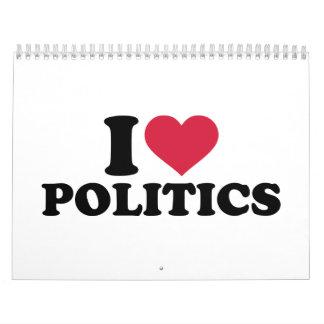 I love Politics Calendar