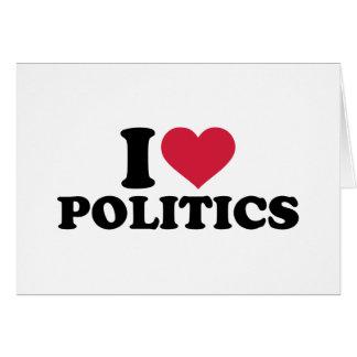 I love Politics Cards