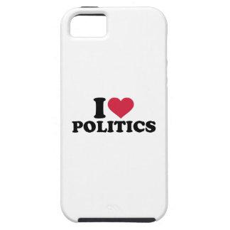 I love Politics iPhone 5 Cover