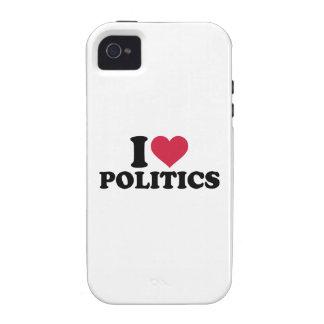 I love Politics iPhone 4 Cases
