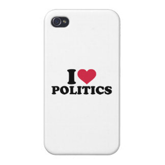 I love Politics Cases For iPhone 4