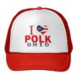 I love Polk, Ohio Trucker Hat