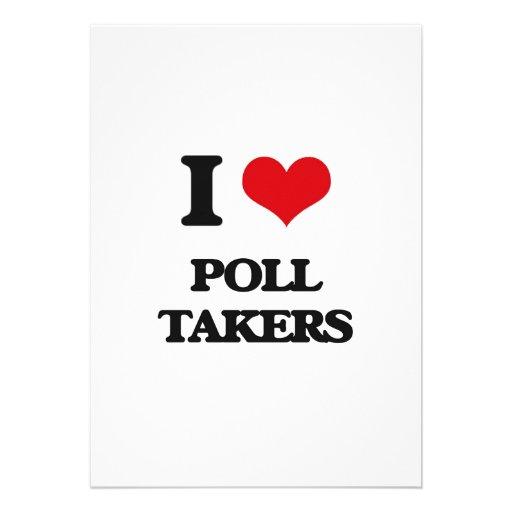 I love Poll Takers Custom Invites