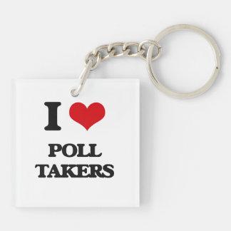I love Poll Takers Acrylic Keychain
