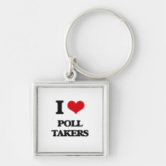 I love Poll Takers Keychain