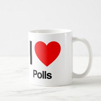 i love polls coffee mug
