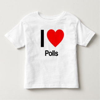 i love polls tee shirt